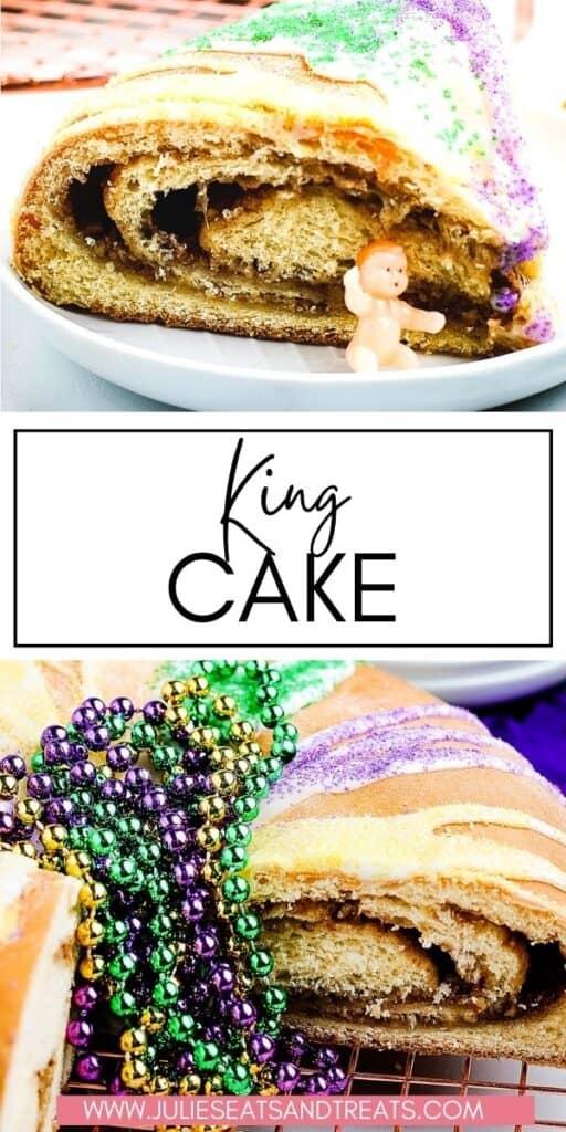 King Cake JET Pinterest Image