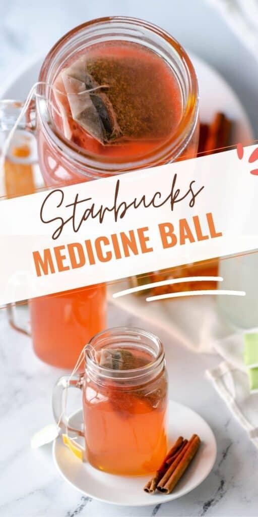 Medicine Ball Tea Pinterest Collage