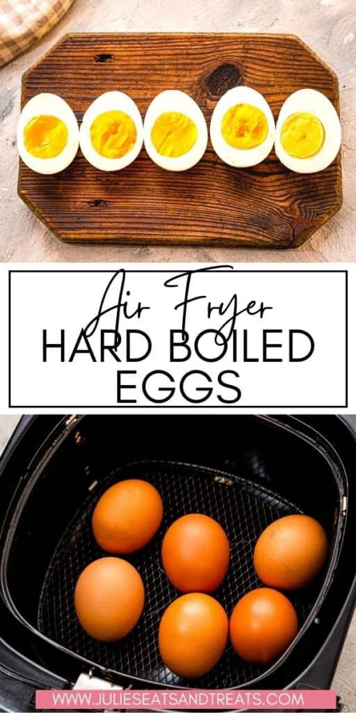 Air Fryer Hardboiled Eggs JET Pinterest Image