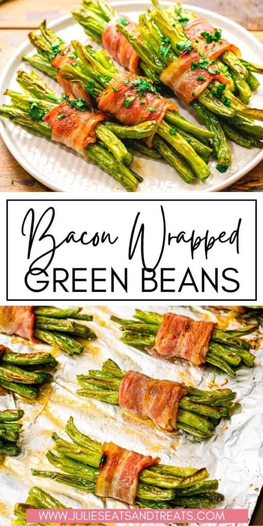 Bacon Wrapped Green Beans JET Pin Image