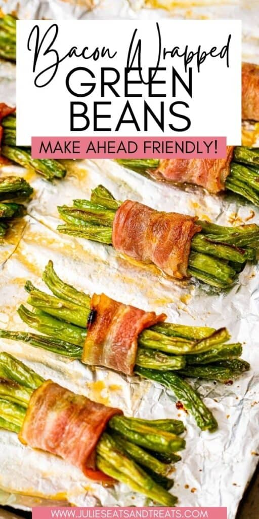 Bacon Wrapped Green Beans JET Pinterest Image