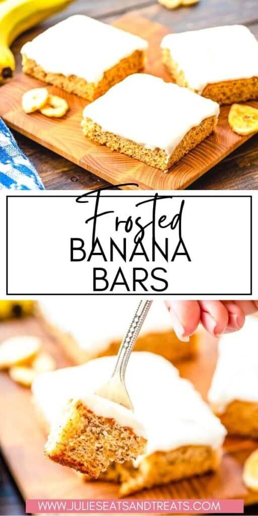 Frosted Banana Bars JET Pin Image