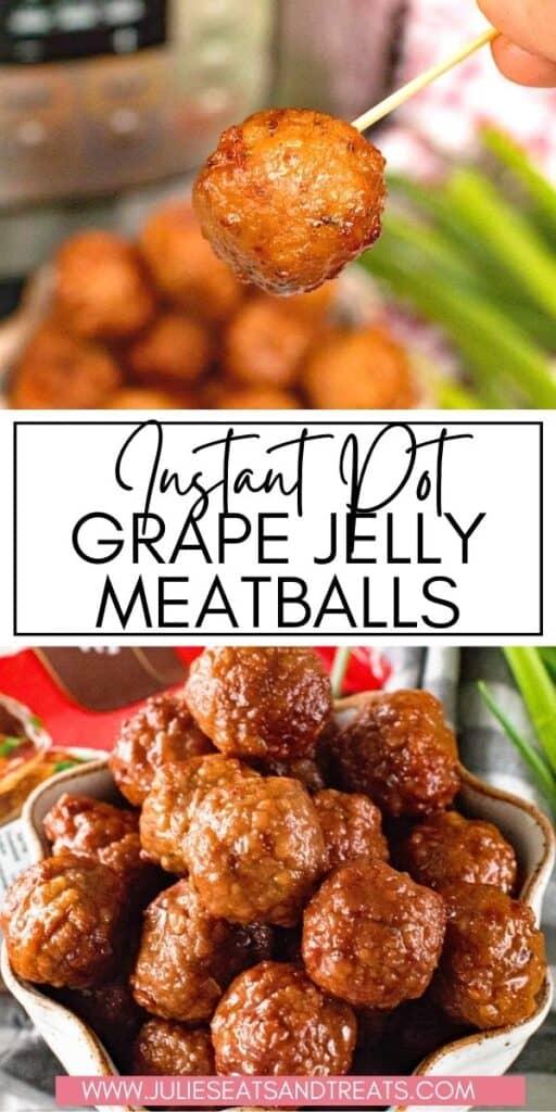 Grape Jelly Meatballs JET Pin Image