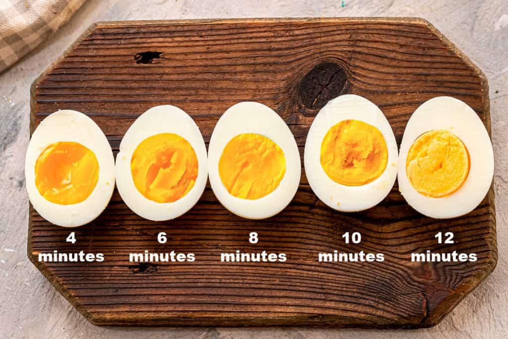 Hard Boiled Eggs Times