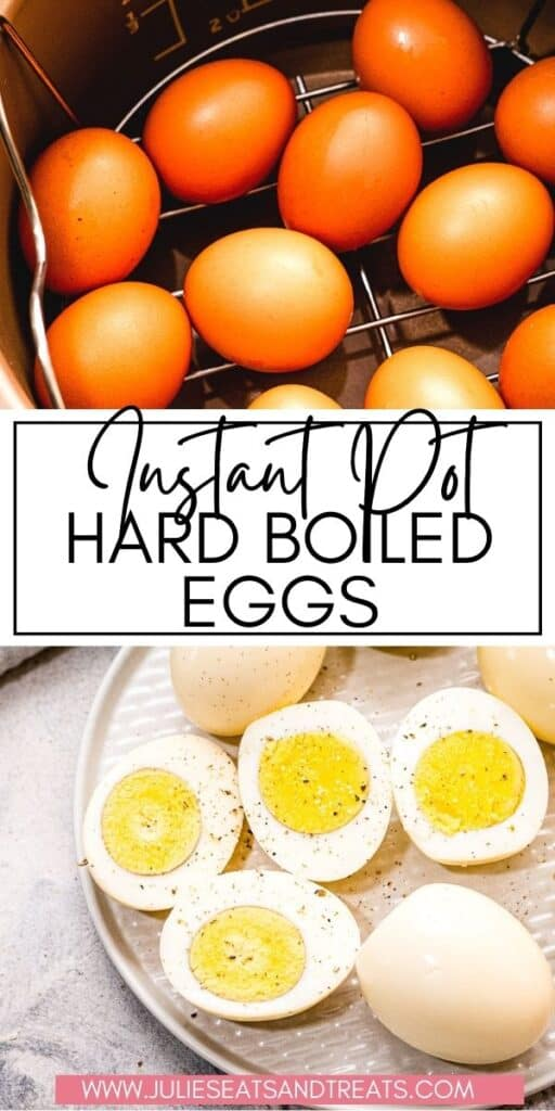 Instant Pot Hard Boiled Eggs JET Pinterest Image