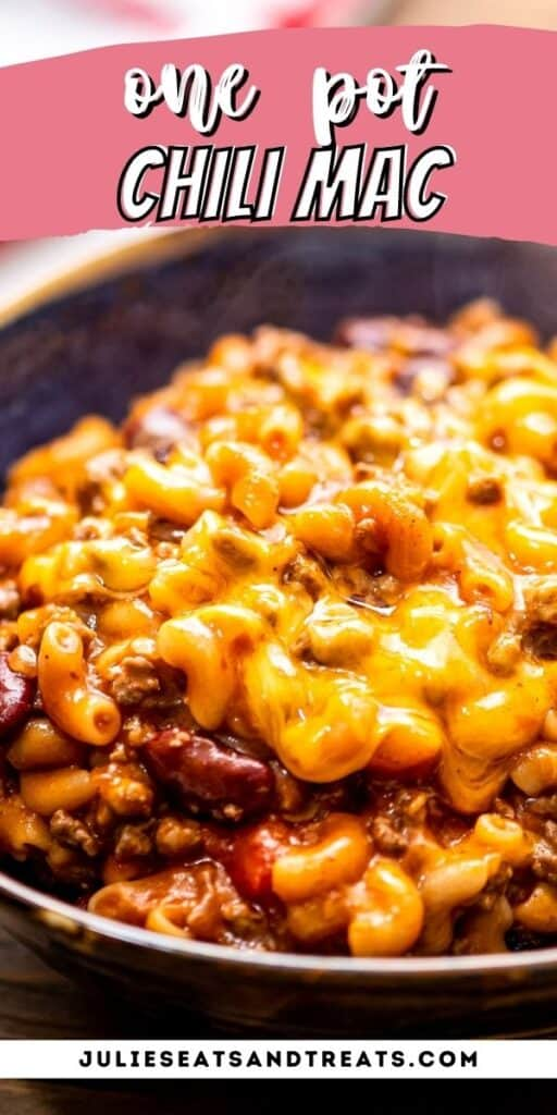 One Pot Chili Mac pinterest