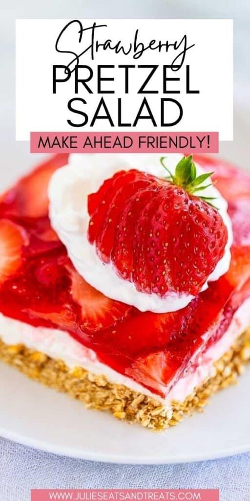 Strawberry Pretzel Salad JET Pin Image