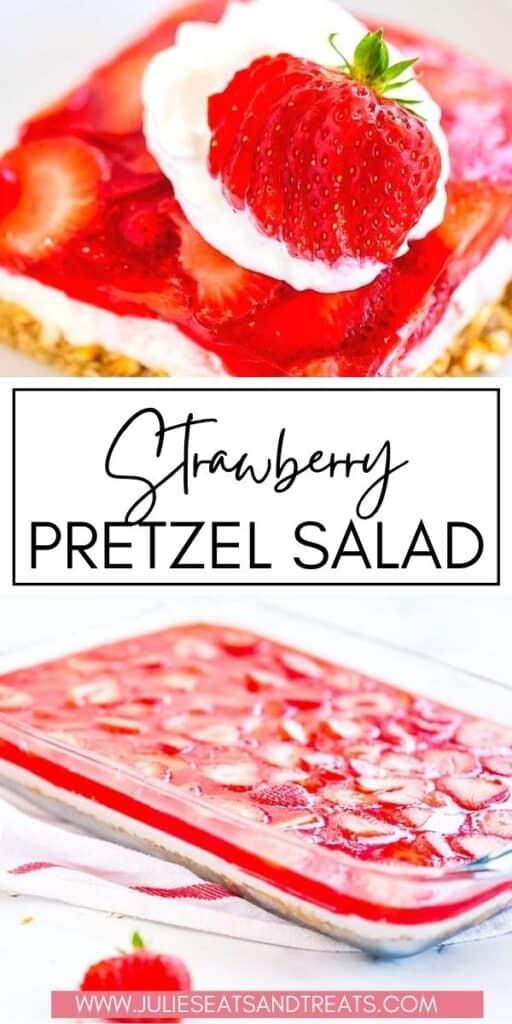 Strawberry Pretzel Salad JET Pinterest Image