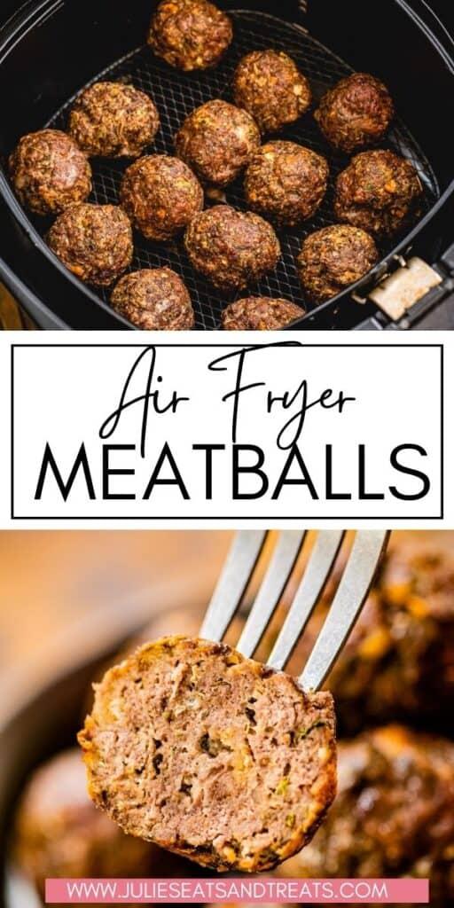 Air Fryer Meatballs JET Pin Image