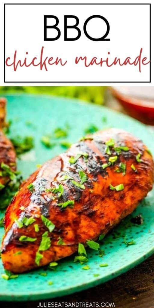 BBQ CHICKEN MARINADE JET Pinterest Image