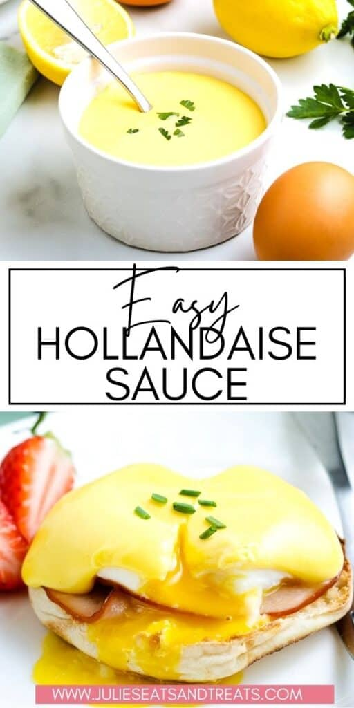 Hollandaise Sauce JET Pinterest Image