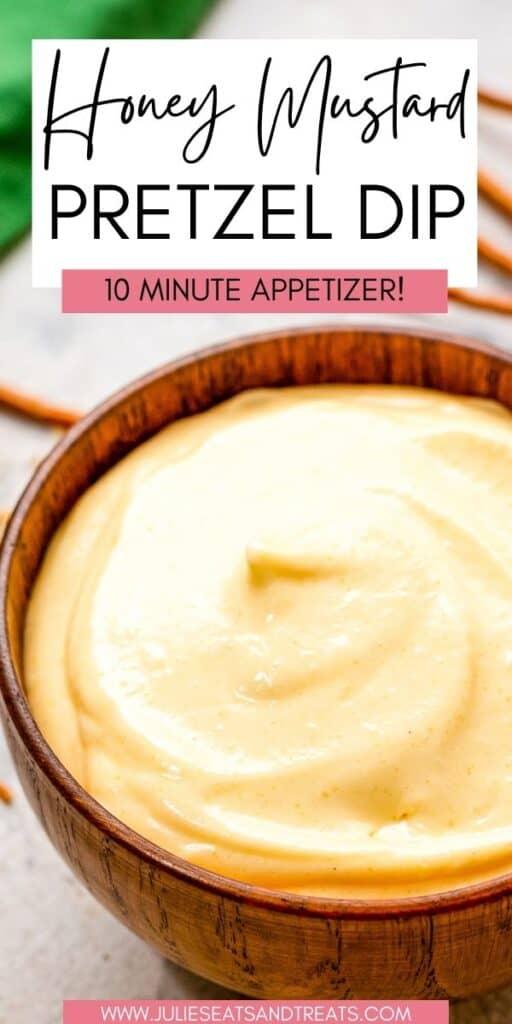 Honey Mustard Pretzel Dip JET Pin Image