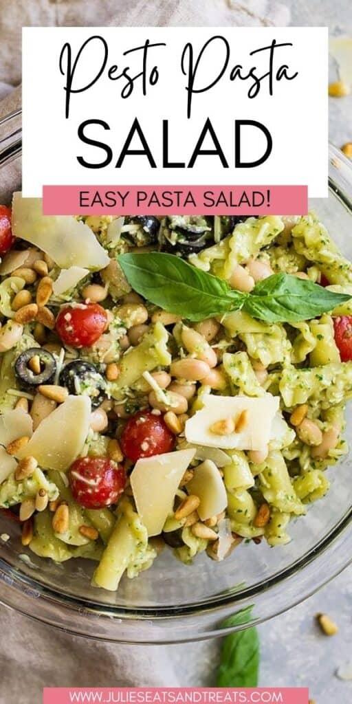 Pesto Pasta Salad JET Pin Image