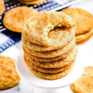 Snickerdoodle Cookies Square Cropped Image