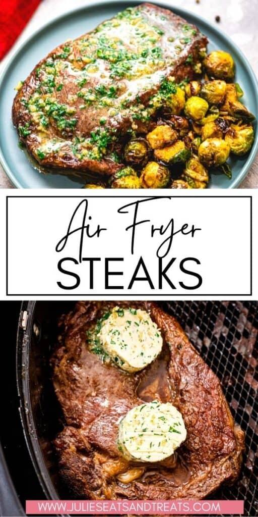 Air Fryer Steak JET Pin Image
