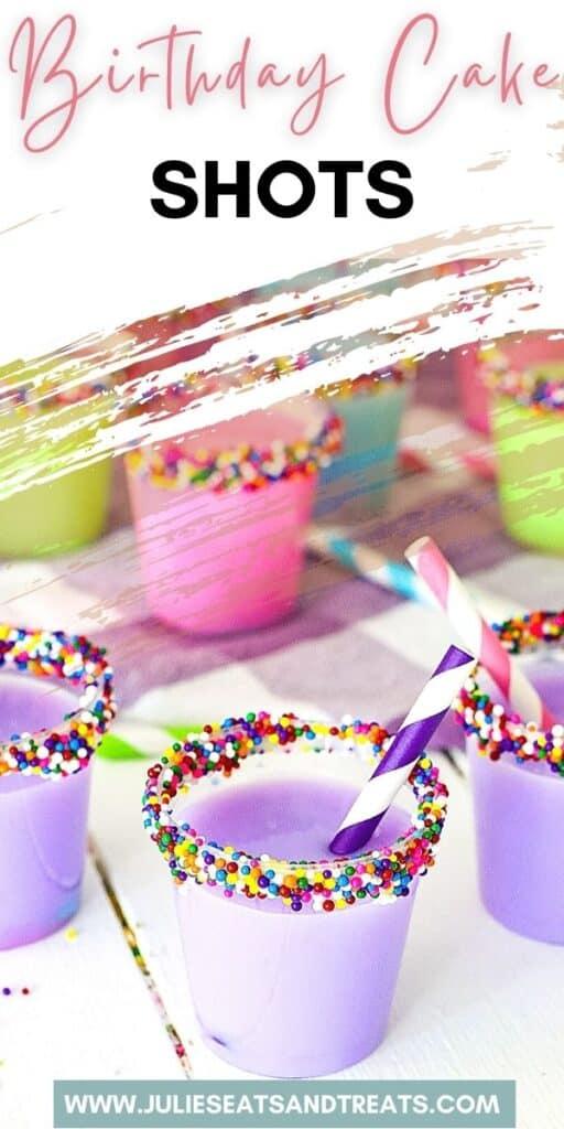Birthday Cake Shots JET Pin Image