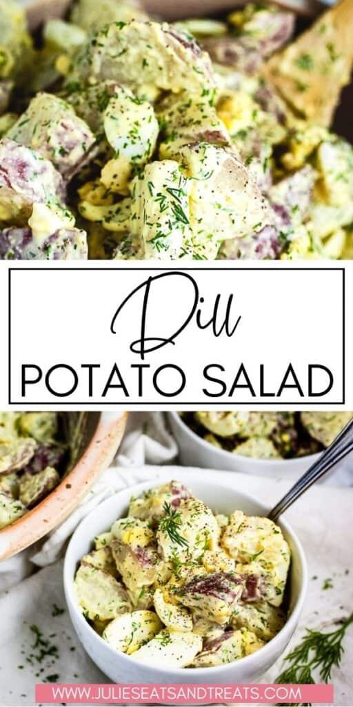 Creamy Dill Potato Salad JET Pinterest Image