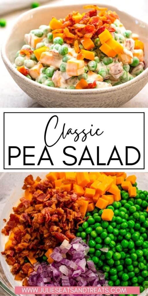 Pea Salad JET Pinterest Image