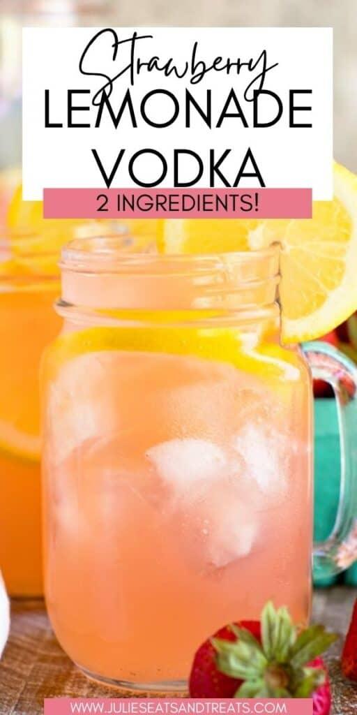 Strawberry Lemonade Vodka JET Pin Image