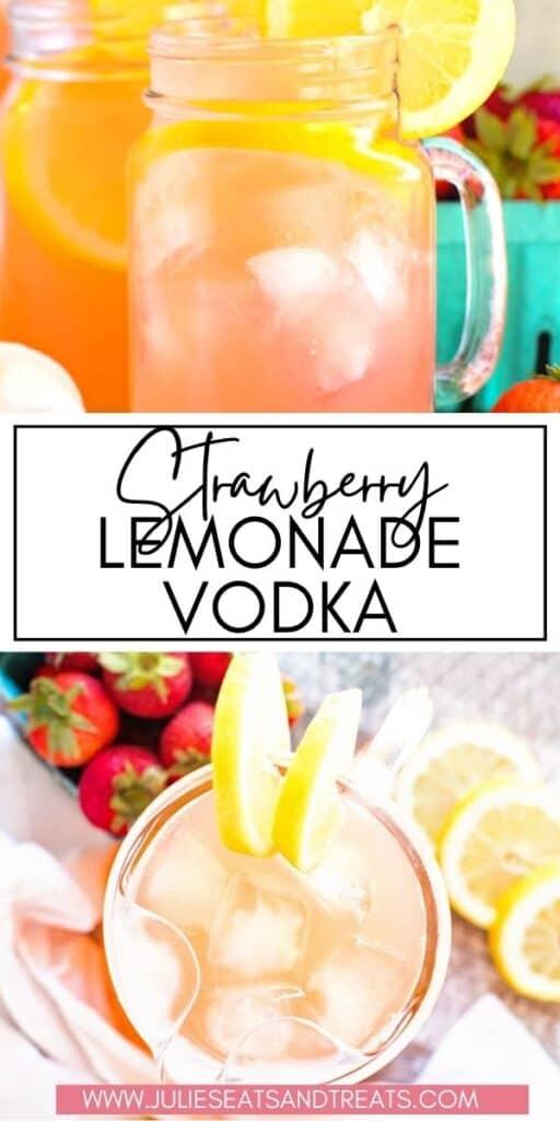 Strawberry Lemonade Vodka JET Pinterest Image