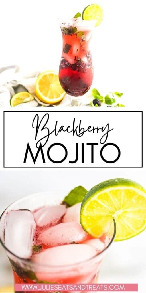 Blackberry Mojito JET Pin Image