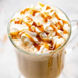 Caramel Latte Square Cropped Image