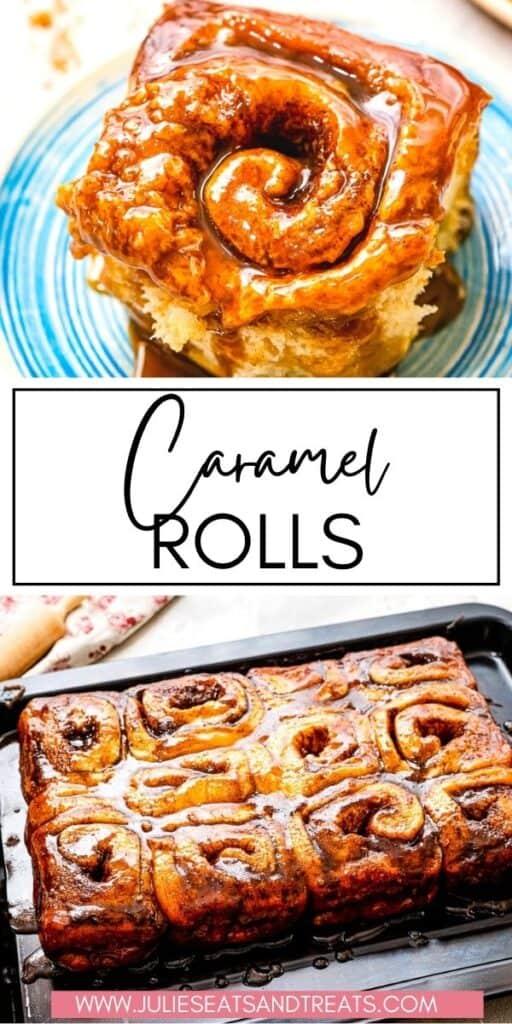 Caramel Rolls JET Pinterest Image