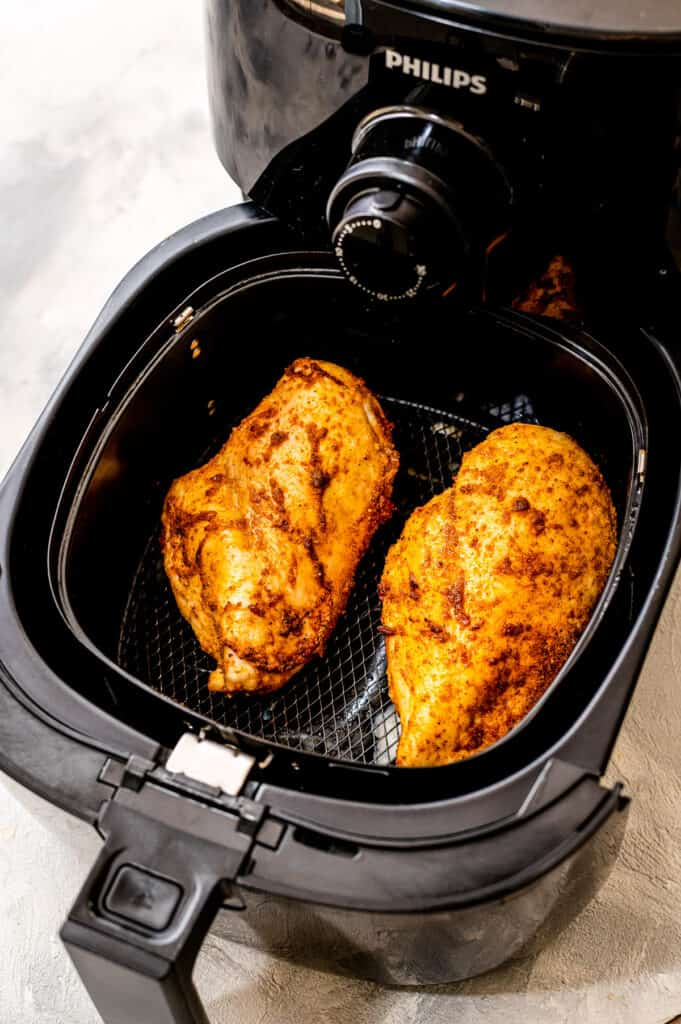 Cooked Air Fryer Chicken Breast