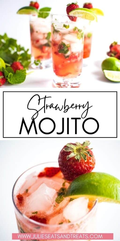 Strawberry Mojito JET Pinterest Image