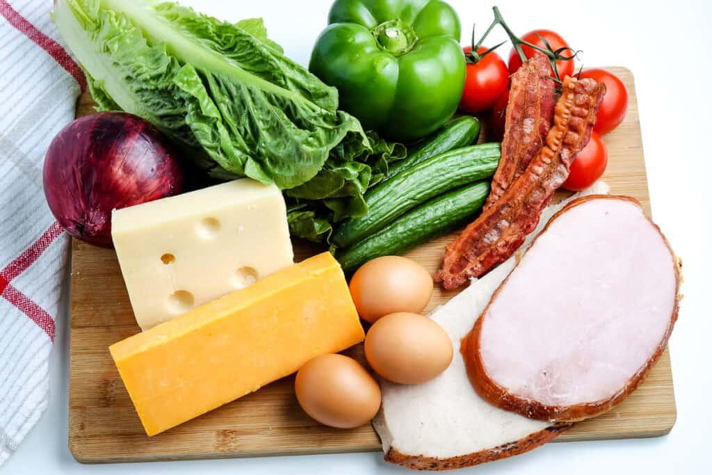 Chefs Salad Ingredients