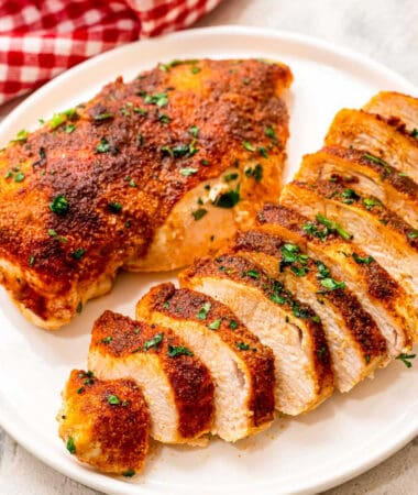 Baked Chicken Breasts Square cropped image