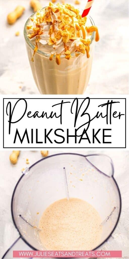 Peanut Butter Milkshake JET Pinterest Image