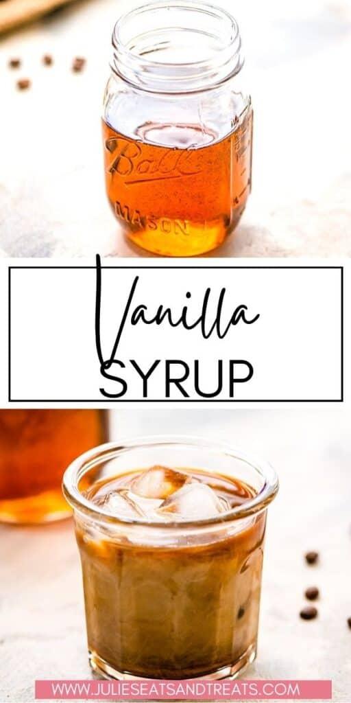 Vanilla Syrup JET Pin Image