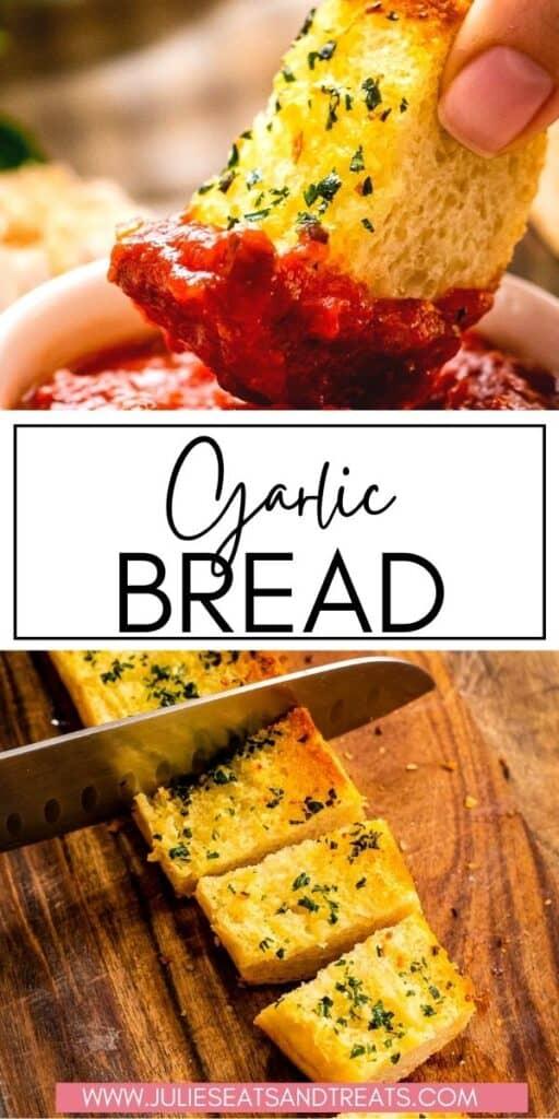 Garlic Bread JET Pinterest Image