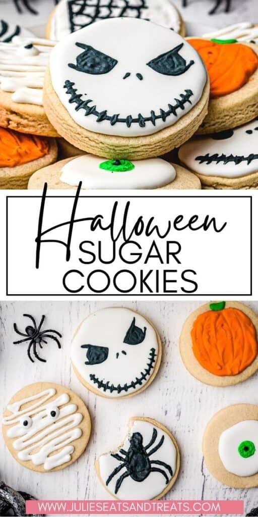 Halloween Sugar Cookies JET Pin Image