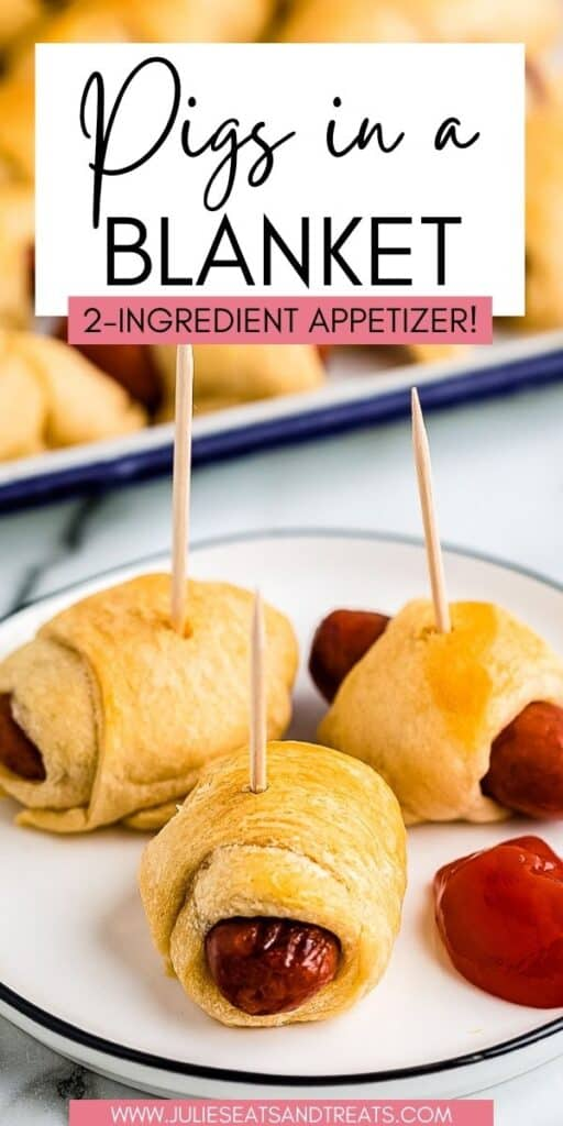 Pigs in a Blanket JET Pin Image