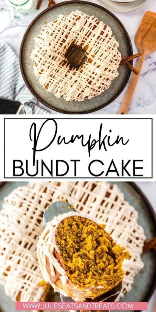 Pumpkin Bundt Cake JET Pin Image
