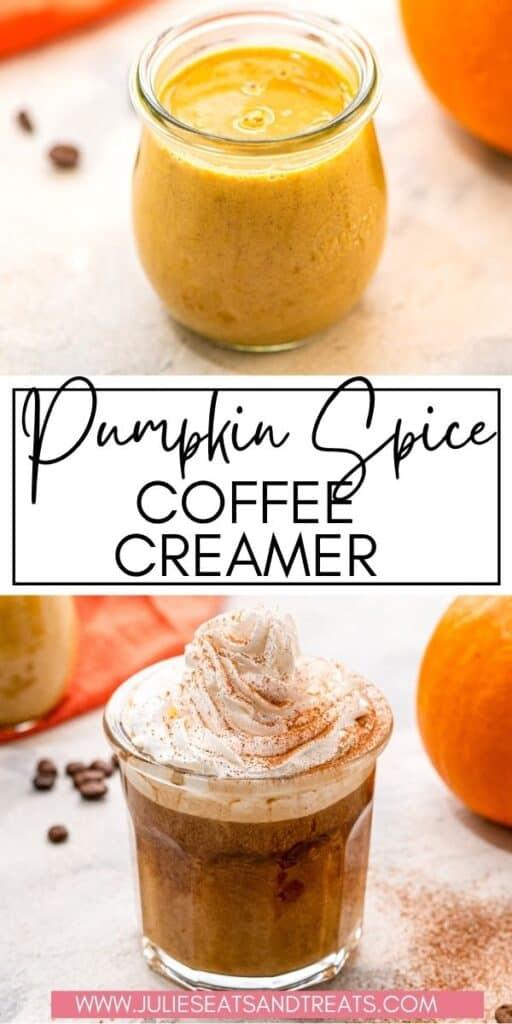 Pumpkin Spice Coffee Creamer JET Pin Image