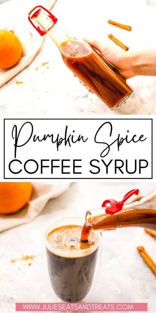 Pumpkin Spice Syrup JET Pin Image