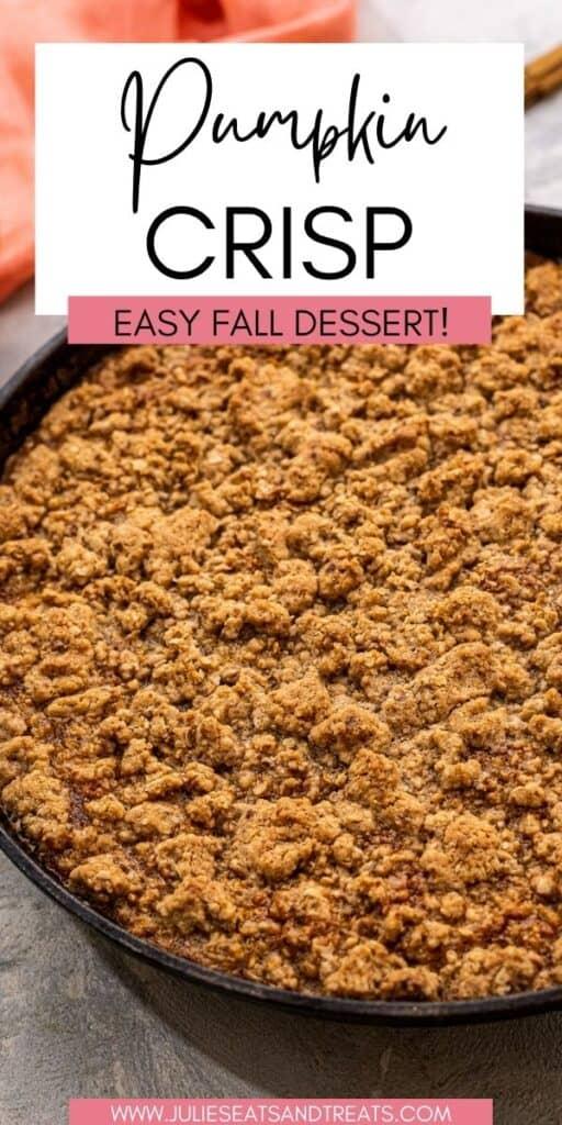 Pumpkin Crisp JET Pinterest Image