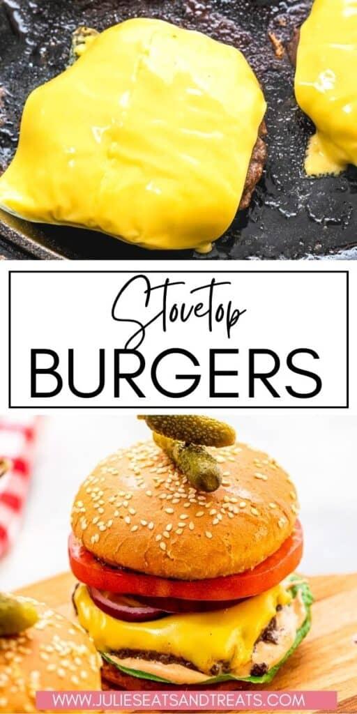 Stovetop Burgers JET Pin Image